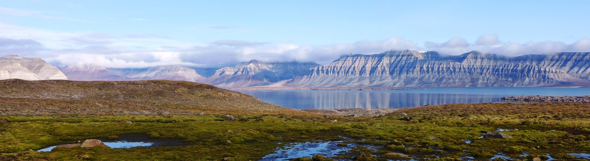 Svalbard in the Summer