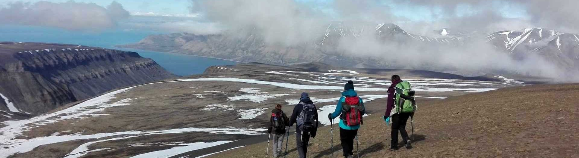 Arctic Hiking, Spitsbergen