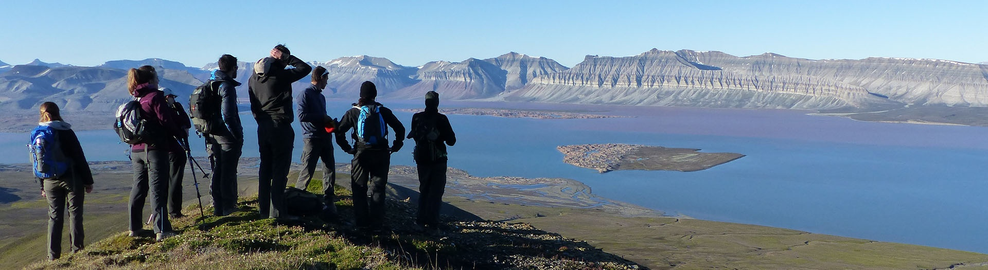 Group trips in Svalbard