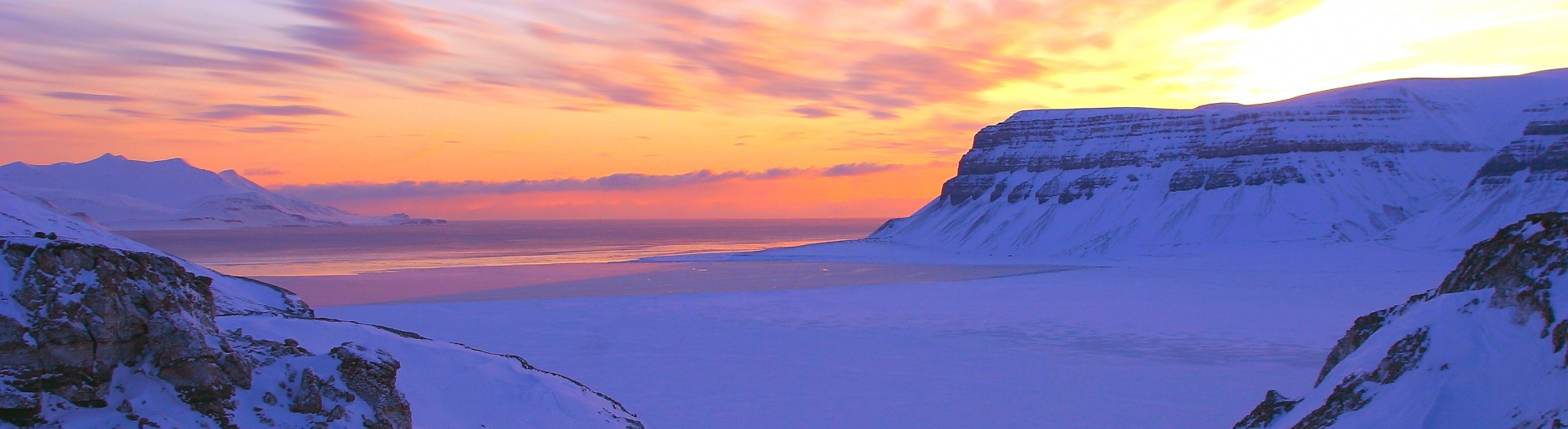 Svalbard in the Winter