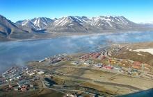 Arrivée à Longyearbyen