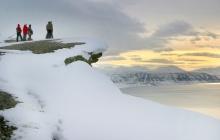 Plateau de Longyearbyen et jardin d'Eden glacé