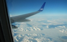 Flight to Longyearbyen