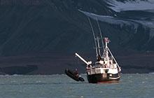 Visite de Longyearbyen - bateau Camp de Svéa